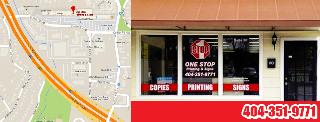 One Stop Printing & Signs Open for Business