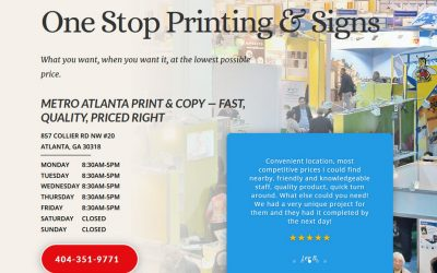 Print Shop Reopens With New Resources